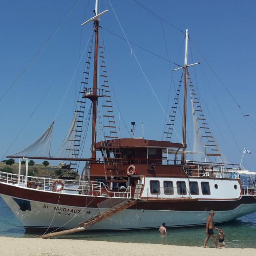 , Cruise to Toroneos golf