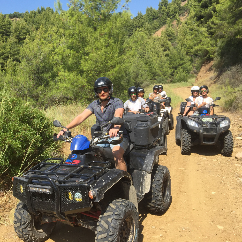 , Tour with 4 wheelers